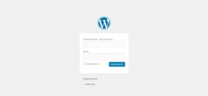 wordpress admin login 1