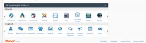 Wordpress telepítés Cpanel