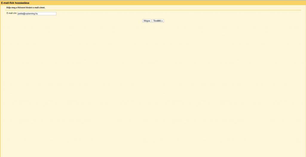 gmail beallitas 2